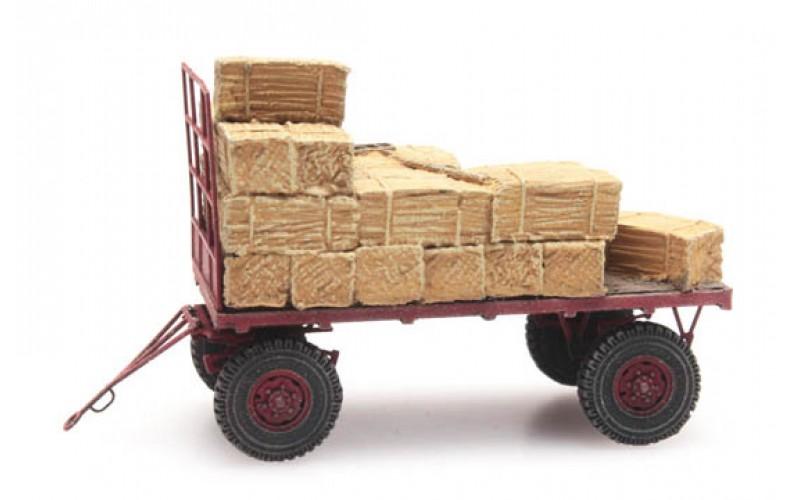 387348 Hay Wagon (HO scale 1/87th)